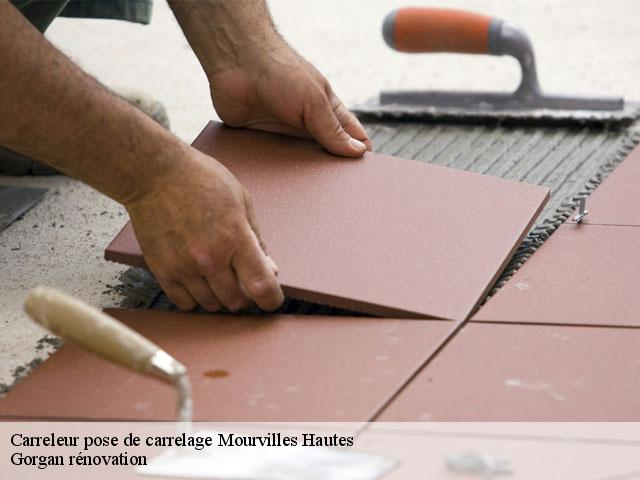 Pose de carrelage  mourvilles-hautes-31540 Gorgan rénovation