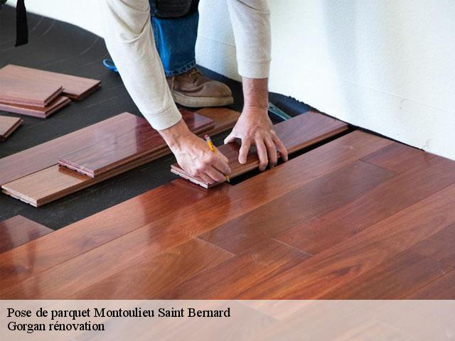 Pose de parquet  montoulieu-saint-bernard-31420 Gorgan rénovation