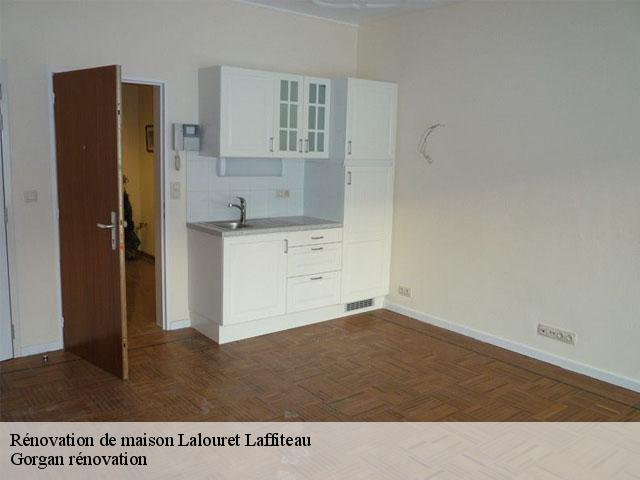 Rénovation de maison  lalouret-laffiteau-31800